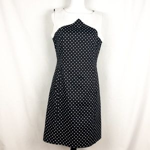 TAHARI Arthur S. Levine Polka Dot Dress Size 8